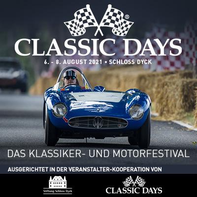 Classic Days Schloss Dyck 2021